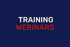 Training Webinars Buttons